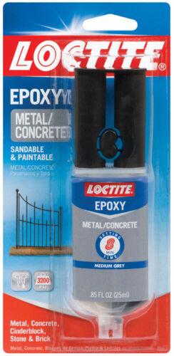 LOCTITE Metal And Concrete Epoxy 3200 PSI 1919325