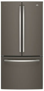 "33"" GE Pro slate french door bott freezer fridge $1499! as tor*"