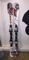 Rossignol 140 Skis with Head Bindings