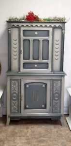 Antique Dining Cabinet Made in Canada