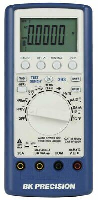 Bk 393 True Rms Handheld Digital Multimeter With Usb Interface