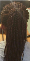 Affordable braids(Twists, wig caps, box braids, weave-ons)