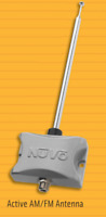 NuVo Active AM/FM/WX Antenna for T2 Tuner NEW T2 ANTENNA