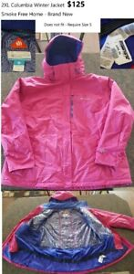2XL Women's Columbia Winter Jacket