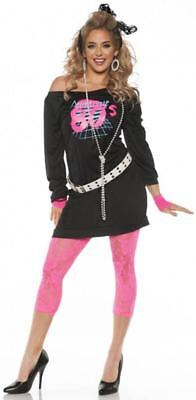 Awesome 80's  Adult Female Costume