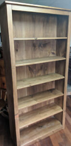 Handmade Solid Pine Bookcases