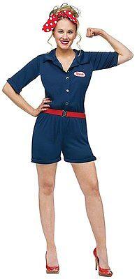 Rosie the Riveter - Adult Costume