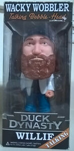 "Funko Duck Dynasty Wacky Wobbler Talking Bobble Head ""Willie"""