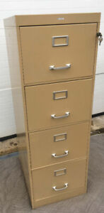 LOCKING w /KEYS!!! Cole Legal Sized Filing Cabinet  SEE VIDEO