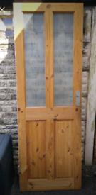 Free - 2 solid pine doors