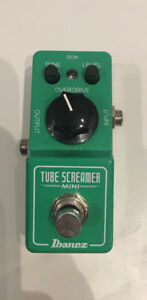 Ibanez ts9 mini tube screamer