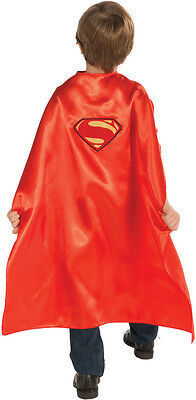 CHILD RED SUPERMAN CAPE KIDS BOYS MAN OF STEEL SUPERHERO COSTUME CAPE - Kids Red Cape