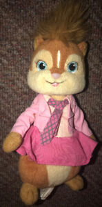 "Alvin & The Chipmunks ""Brittany"" plush Ty beanie baby"
