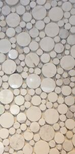 60% OFF Mosaics & Marble Tiles, Finished Project