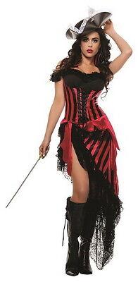 Sexy Starline Black Beard's Beloved Pirate Dress Costume - Pirat Blackbeard Kostüm