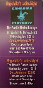 Magic Mike's Ladies Night. SOLD OUT tickets June 1. Last chance!