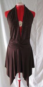 Club / Latin Dance Halter Dress