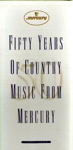 50 Years of Country Music (Mercury 3 CD Box Set)