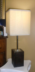 Table top lamp - 20 inches high