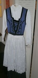 Women's Norwegian Bunad-Festdrakt traditional long dress 16-18