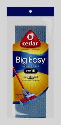 O-Cedar BIG EASY Flat Sponge Mop Refill Absorbant Extra Large Floor Clean 146481