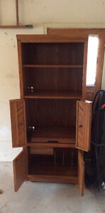 Solid wood shelving unit Stratford Kitchener Area image 1