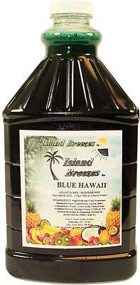Half Gallon Concentrate - Frozen Drink Mix Island Breeze Concentrate 6 Half Gallon Bottles Choose Flavor