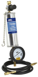 BLOW OUT - NEW OTC 7448A FUEL INJECTION CLEANER CANISTER