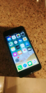 Iphone 6s 32 Gb Fido Great Condition For 300$ ( NEGOCIABLE)