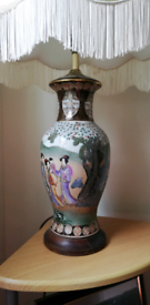 Old vintage chinese lamp
