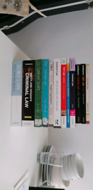 Variety of law textbooks