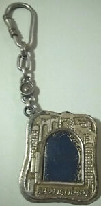 Collectible Keychain Jerusalem with Miniature Book of Psalms