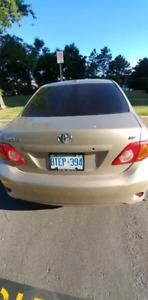 2010 Toyota Corolla- Great condition-159000km