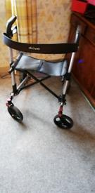 Folding walking aid lightweight