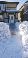 Snow clearing, scraping, and moving services
