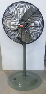 Industrial Pedestal Fan Dayton 1UM41 2 speed