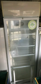 Commercial tall freestanding drinks display Cooler fully working