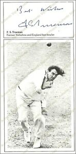 Fred Trueman Signed