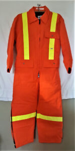 High visibility insulated coverall orange Size 40 small $99 OBO