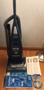 Panasonic 12A Upright HEPA Carpet Vacuum + Bags Set