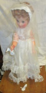 ca 1958 Canadian Bride Doll Reliable Toy Co. Excellent Shape