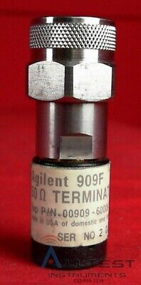 Hp - Agilent - Keysight 909f 50 Ohm Load Part Number 00909-60009