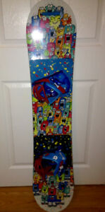 Snowboard and Bindings,  Burton Youth Size.  New!
