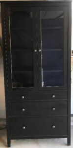 IKEA Hemnes Glass Door Cabinet