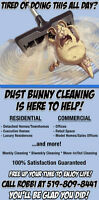 Tired of Chasing Dust Bunnies