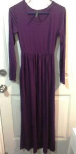 Long Sleeve Maxi Dress (size S)