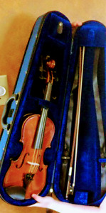Half size Violin with carry case