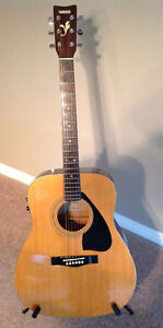 Culling my collection!  Yamaha Acoustic Electric Guitar