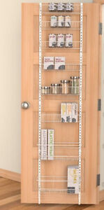 I'm looking for over the pantry door spice rack / organizer