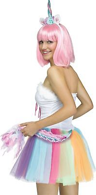Unicorn Headband Tail Adult Halloween Costume Kit (Wig not Included) - Unicorn Tail Costume